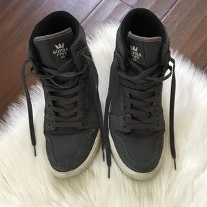 Supra FTWR CO High Top Sneakers Size 9